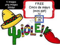 FREE Cinco de mayo (mini version) product from kady did doodles on TeachersNotebook.com