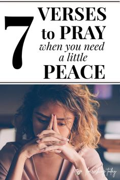 Do you need a little peace in your life? Peace of mind and comfort in our soul comes from a rich time spent with Jesus. Here are 7 bible verses to increase your faith and calm your heart. #peace #peaceofmind #bibleverses #bible #biblestudy #Jesus