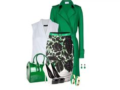 Love the use of green