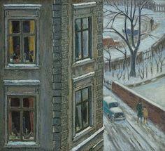 Carl Falbe-Hansen - Block of Flats, Winter | Flickr - Photo Sharing!
