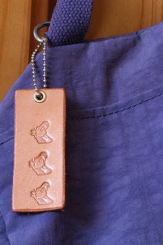 Horse Bag Charm  Leather Handbag Charm  by TinasLeatherCrafts. Repin To Remember.