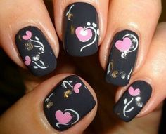 14 Lovely Love Nail Designs for Valentine's Day