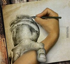 Grasping Hand, 4D Art