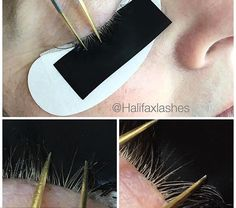 For blonde lashes