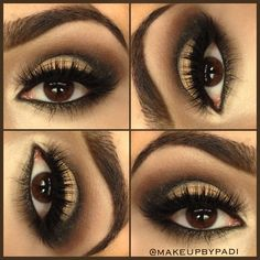 Bronze Smokey Eyes ✨ All shadows are from Naked 2 Palette