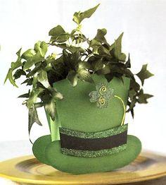 Leprechaun Hat Table Topper