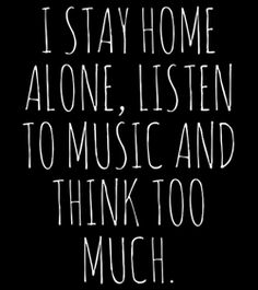 #Stay-home-alone..