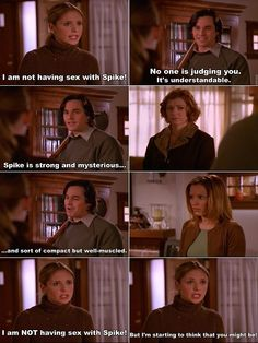 From among the best Buffy the Vampire Slayer quotes ;-)