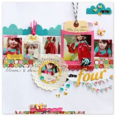 #papercrafting #scrapbook #layout Elizabeth Kartchner .