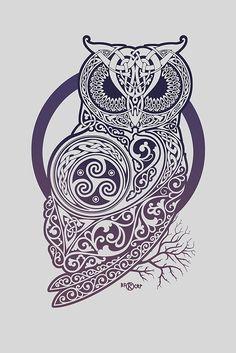 CELTIC OWL by RAIDHO