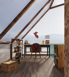 Youngsters Area Home Furnishings Trs Studio Envisions Shipping Containers As Affordable Housing In Peru Sustainable Architecture, Architecture Design, Shipping Container Homes, Shipping Containers, Luminaire Original, Modular Housing, Low Cost Housing, Cargo Container, Social Housing