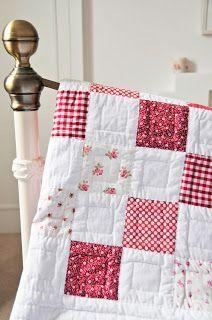 My Old Checkerboard Quilt | Helen Philipps | Bloglovin'