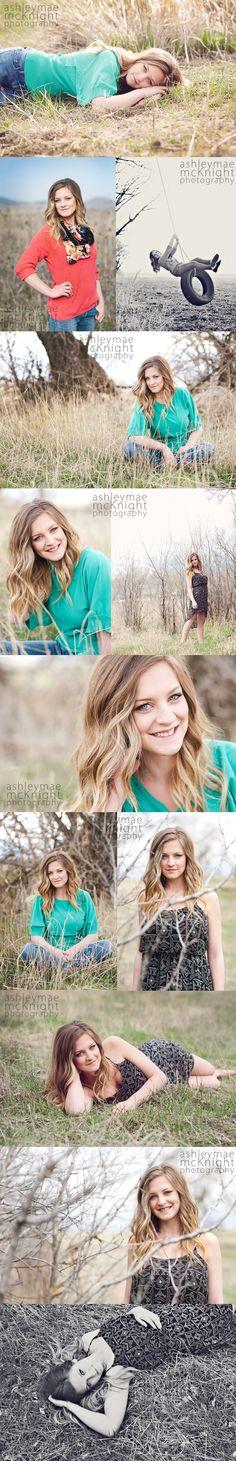 Senior Girl Poses, Photography.