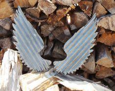 Corrugated Metal Wings