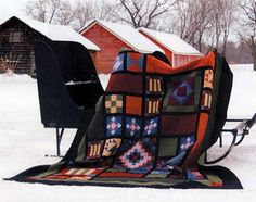 love the Amish quilts.