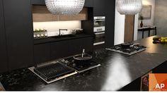 #interiorismo #diseño #interiores #cocina #kitchen #florense #blackkitchen #cocinanegra www.aparquitectos.mx