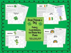 St pattys day comprehension