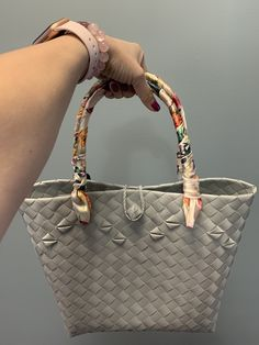 Handwoven from recyclable plastic Regions Of The Philippines, Market Bag, Innovation Design, Hand Weaving, Michael Kors, Plastic, Pattern, Bags, Model