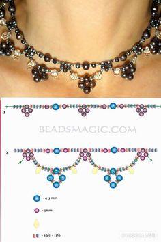 Beaded Embroidery Jewelry For Sale & Jewellery Jobs. Beaded Embroidery Jewelry For Sale & Jewellery Jobs. Jewelry Crafts, Handmade Jewelry, Beaded Necklace Patterns, Bead Patterns, Bead Embroidery Jewelry, Beaded Embroidery, Seed Bead Bracelets, Seed Beads, Bead Jewellery