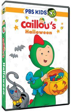 Caillou's Halloween DVD