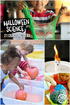 Super Cool! 23 Halloween Home Science Fun Ideas For Kids