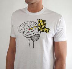 "Camiseta ""You Are Here"""