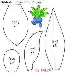 pokemon plush patterns - Google Search