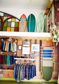 △ mollusk surf shop ya cant wait for my o Surf Shack, Beach Shack, Shop Interior Design, Retail Design, Surf Store, Surf House, Surf Design, Retail Interior, Retail Space