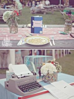 vintage wedding ideas for decorations 001
