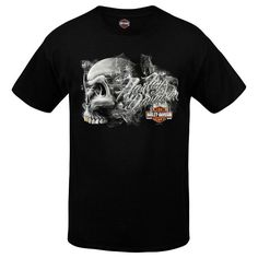 Genuine Harley-Davidson Men s Dealer T-Shirt Black New
