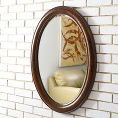 Master bath mirror?? Hammary Oval Mirror $190.00