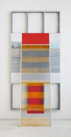Lisa Sigal, Hinged Painting (city of vernon), 2013 (courtesy of the artist)