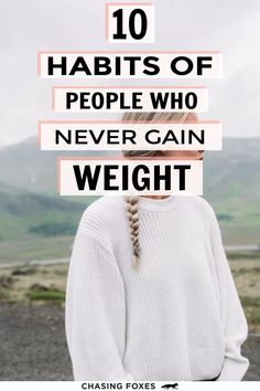 Weight loss is a complex topic and so we should listen to and love our bodies while getting expert advice whenever we're planning to lose weight. However, there are some general, simple habits of people who stay their healthy weight that can be worth knowing. These are simple concepts you can action and that may even help you reach your weight loss goals!