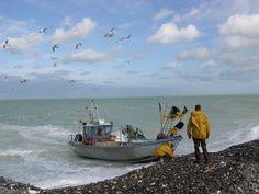 Changez de rythme, découvrez de nouveaux horizons: Retour de pêche à Quiberville