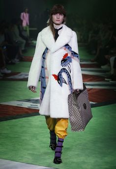 Love this faux fur coat!