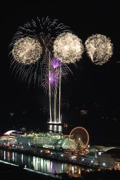 Fireworks off Navy Pier