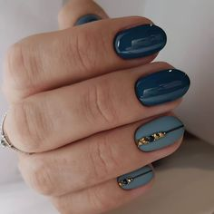 Festive nails Matte nails Nail art stripes Nail designs for short nails Nails with stones New years nails Two color nails Winter short nails Striped Nail Designs, Short Nail Designs, Best Nail Art Designs, Yellow Nails Design, Yellow Nail Art, Two Color Nails, Nail Colors, Romantic Nails, Nail Art Design Gallery