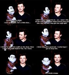Chris and his Puppet ❤️