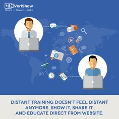 Provide your remote students a real-time teaching lesson direct from your website. Online education just got easier with VeriShow.
