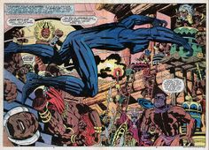 Black Panther #08 by Jack Kirby by Derek Langille, via Flickr