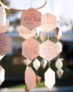 Beyond the Guest Book: Clever Ways to Gather Advice at Your Reception   Apartment Therapy