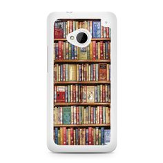 bookshelf HTC One M7 Case