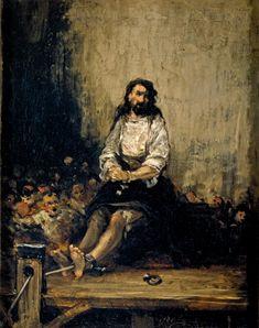 El ajusticiado - Colección - Museo Nacional del Prado- Eugenio Lucas Velázquez