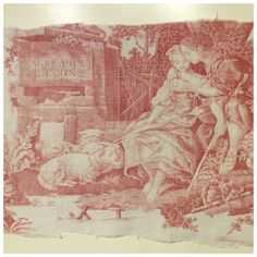 A personal favorite from my Etsy shop https://www.etsy.com/listing/576807570/antique-french-linen-toile-de-jouy-lart