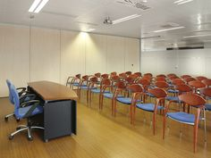 Sala de presentaciones. CINC, Centro de negocios en Barcelona.