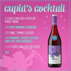 Cupid's Cocktail #flipflipwine