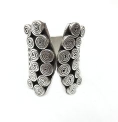 Hey, I found this really awesome Etsy listing at https://www.etsy.com/uk/listing/267420896/sterling-silver-ethnic-tribal-ring
