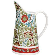 William Morris Pink and Rose Pitcher - The Met Store