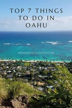 Planning a trip to Oahu Hawaii? This guide goes over some of the top attractions in Oahu. With its beaches mountains and beautiful weather Oahu HI has something for everyone. Hawaii Vacation, Hawaii Travel, Travel Usa, Beach Travel, Mexico Travel, Spain Travel, Italy Travel, Oahu Hawaii, Visit Hawaii