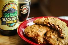 Black Butte Porter Chocolate Chip & Walnut Cookies